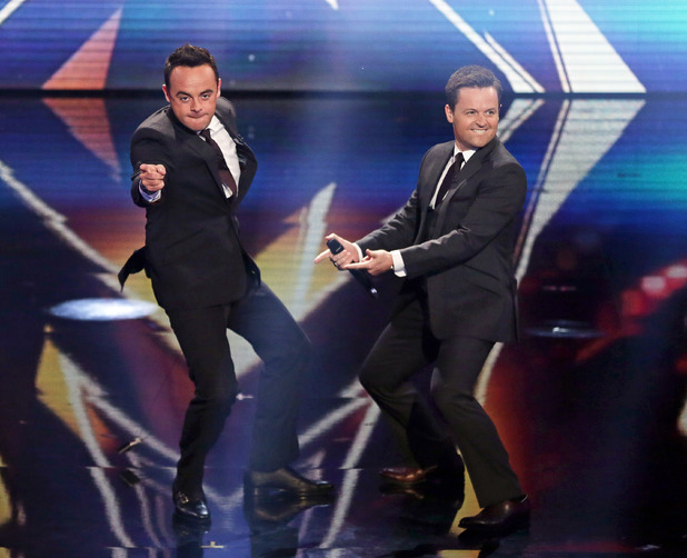 Britain's Got Talent live semi-final 4: Ant and Dec