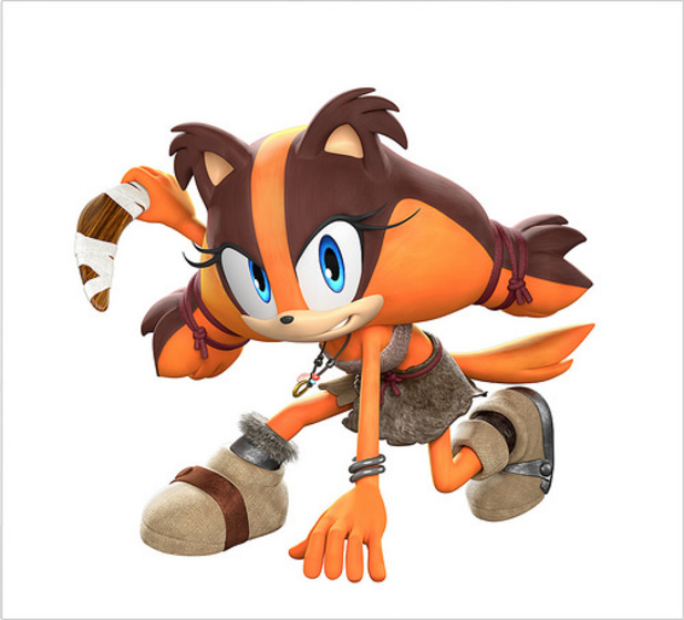 Sticks will debut in the Sonic Boom TV show and video games