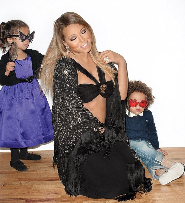 Mariah Carey Wonderland magazine shoot