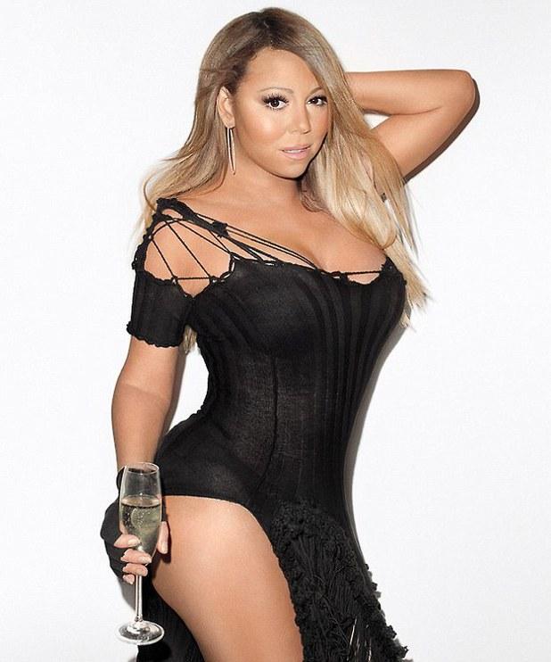 Mariah Carey Wonderland magazine shoot