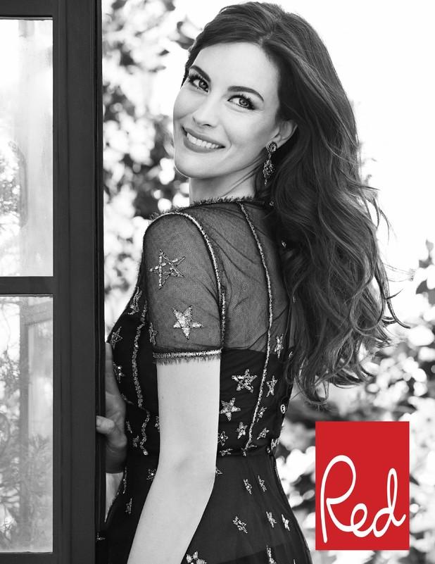 Liv Tyler in Red magazine