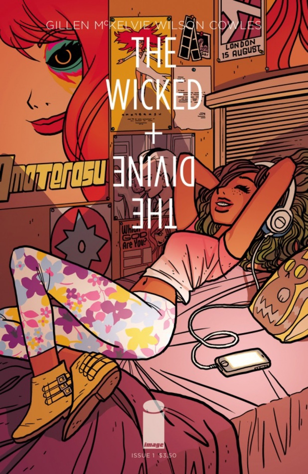 Bryan Lee O'Malley's The Wicked + the Divine cover