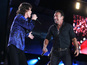 Springsteen joins Rolling Stones on stage