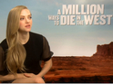 We talk to the actress about Western comedy A Million Ways To Die in the West.