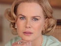 Nicole Kidman stumbles and falls in Grace Kelly's shoes.