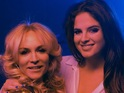 Binky Felstead competes in a dancing competition in a cheesy new video.