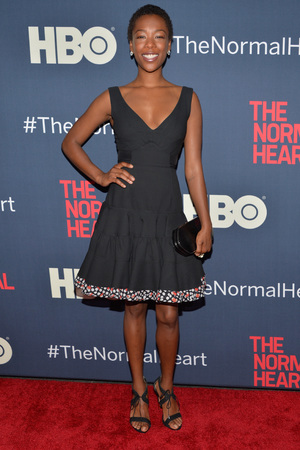 NEW YORK, NY - MAY 12: Samira Wiley attends the New York premiere of 'The Normal Heart' at Ziegfeld Theater on May 12, 2014 in New York City. (Photo by Ben Gabbe/Getty Images)