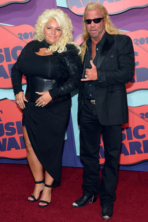 NASHVILLE, TN - JUNE 04: Beth Chapman and Duane Chapman attend the 2014 CMT Music awards at the Bridgestone Arena on June 4, 2014 in Nashville, Tennessee. (Photo by Michael Loccisano/Getty Images)