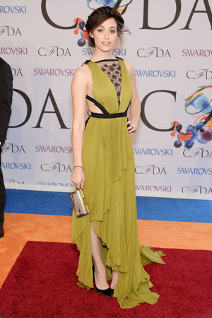 NEW YORK, NY - JUNE 02: Actress Emmy Rossum attends the 2014 CFDA fashion awards at Alice Tully Hall, Lincoln Center on June 2, 2014 in New York City. (Photo by Dimitrios Kambouris/Getty Images)