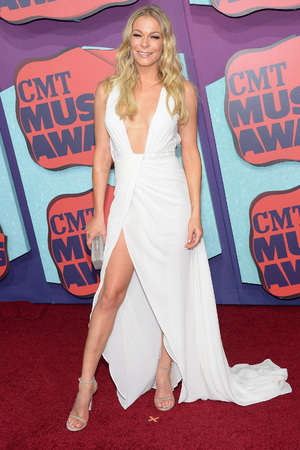 NASHVILLE, TN - JUNE 04:  LeAnn Rimes attends the 2014 CMT Music awards at the Bridgestone Arena on June 4, 2014 in Nashville, Tennessee. (Photo by Michael Loccisano/Getty Images)