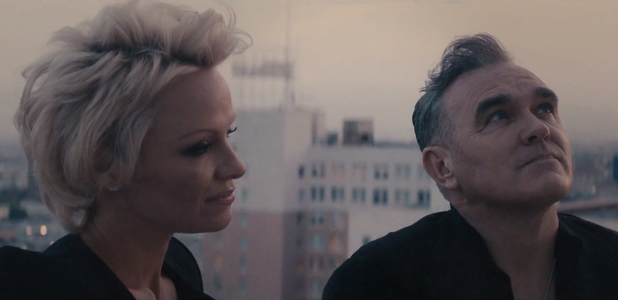 Morrissey new 'Earth Is The Loneliest  video starring Pamela Anderson