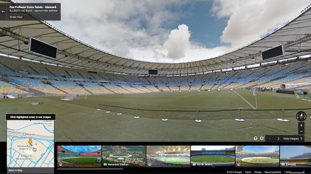 Google Maps - Street View: Rua Professor Eurico Rabelo - Maracanã, RJ