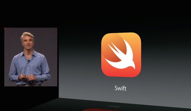 Apple WWDC 2014: iOS 8 demo - Swift programming language