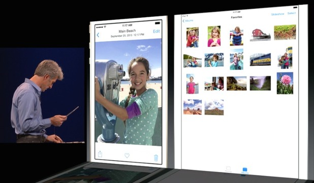 Apple WWDC 2014: iOS 8 demo - photo editing and sharing