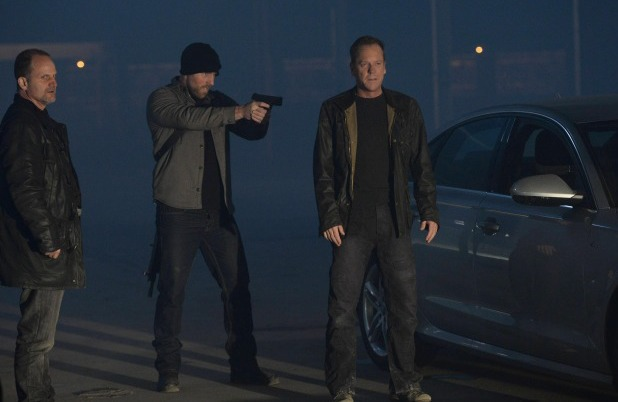 Kiefer Sutherland in 24: Live Another day episode 6 - '4:00PM - 5:00PM'