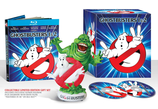 Ghostbusters Special Edition blu-rays