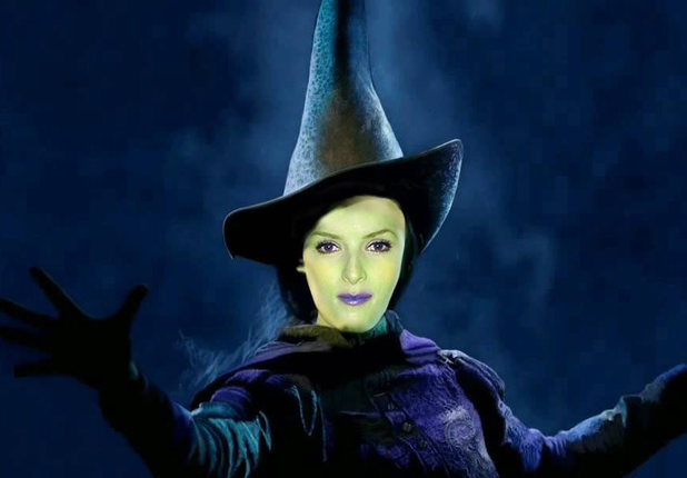 Anna Kendrick as she would look as Elphaba in Wicked