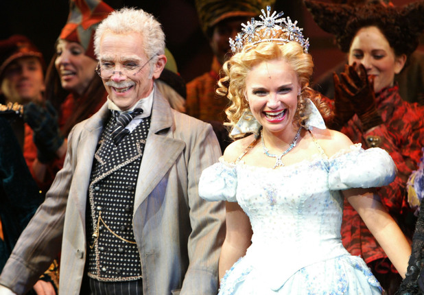 Kristin Chenoweth in Wicked in 2003