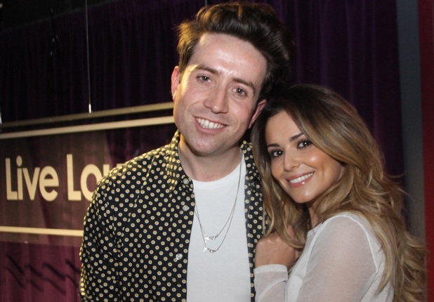 Nick Grimshaw & Cheryl Cole on the BBC Radio 1 breakfast show