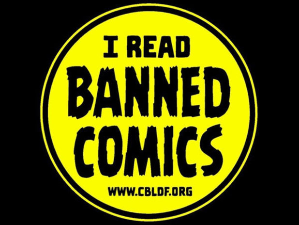 I Read Banned Comics logo