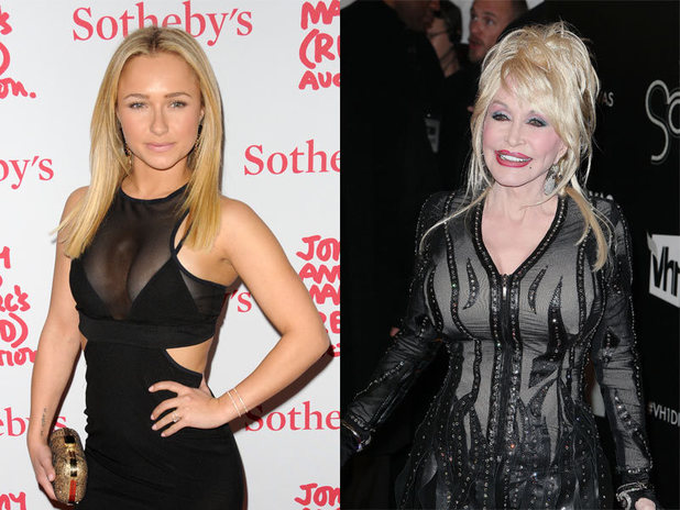 Hayden Panettiere & Dolly Parton