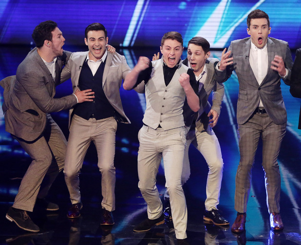 Collabro are crowned winners of Britain's Got Talent final