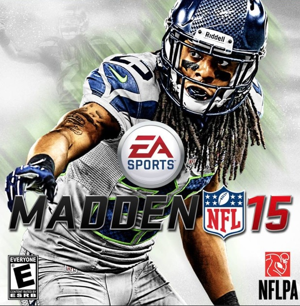 Box artwork for Madden NFL 15