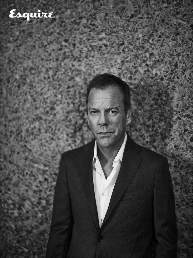 Kiefer Sutherland in Esquire's July 2014 issue