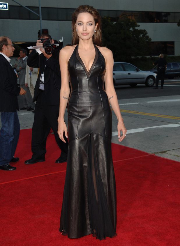 Angelina Jolie Mr and Mrs Smith LA premiere 2005