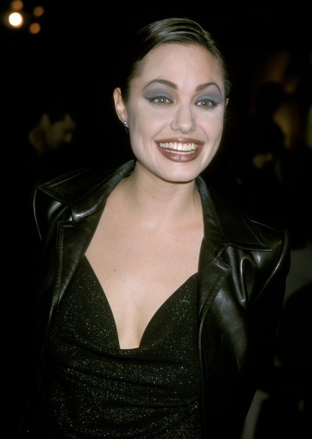 Angelina Jolie at a Screening of HBO's 'Gia' Caption:Angelina Jolie (Photo by Jim Smeal/WireImage)