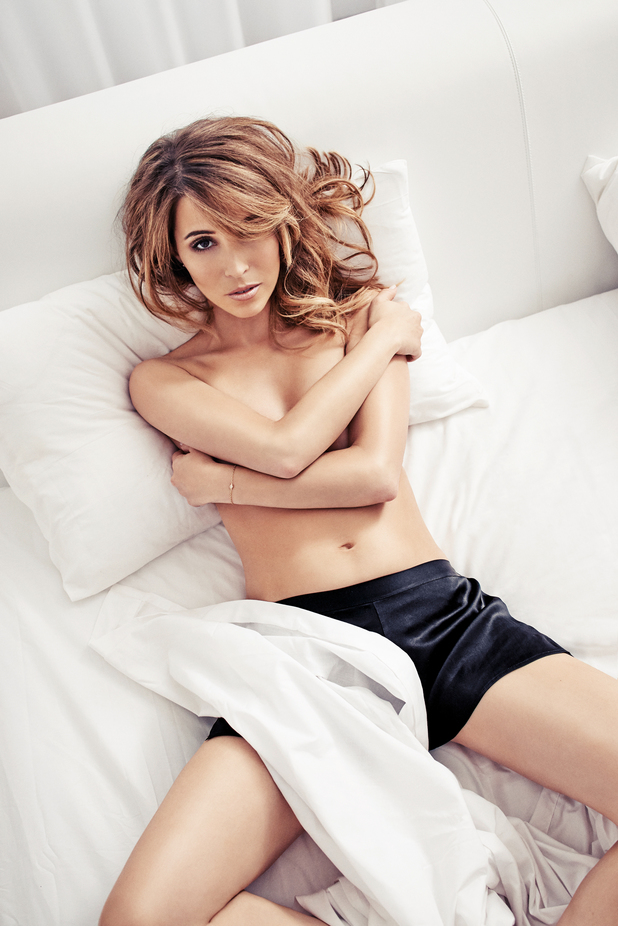 Rachel Stevens in FHM magazine