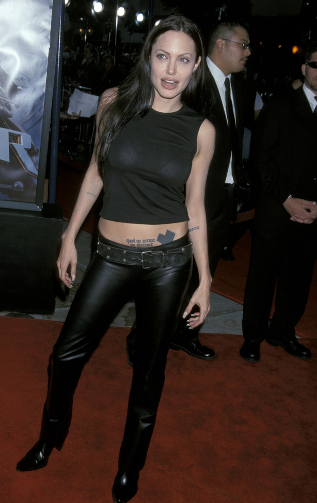 Lara Croft: Tomb Raider' Los Angeles Premiere Caption:Angelina Jolie at the Mann's Village Theater in Westwood, California (Photo by Jim Smeal/WireImage) 2001