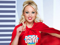 The soap star joins the Dogs Unite charity campaign.