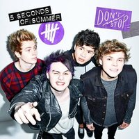 5 Seconds Of Summer 'Don't Stop' artwork