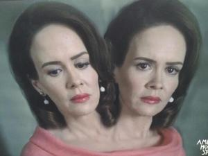 Sarah Paulson as Bette & Dot in American Horror Story