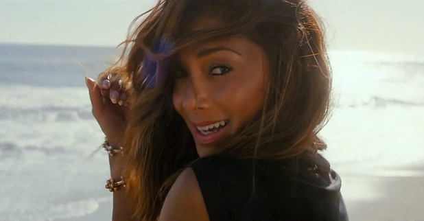 Nicole Scherzinger 'Your Love' music video still.