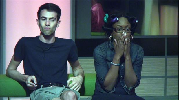 Matthew Davies and Toya A Washington on Big Brother