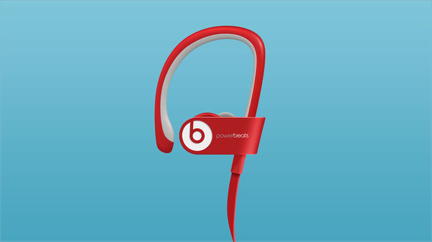 Beats Electronics' Powerbeats 2 headphones