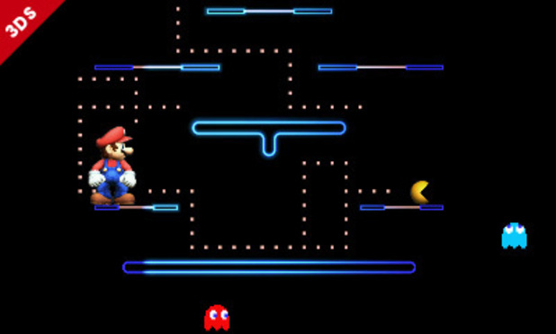 Pac-Man in Super Smash Bros