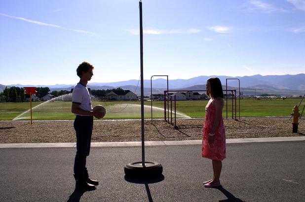 Jon Heder & Tina Majorino in Napoleon Dynamite (2004)