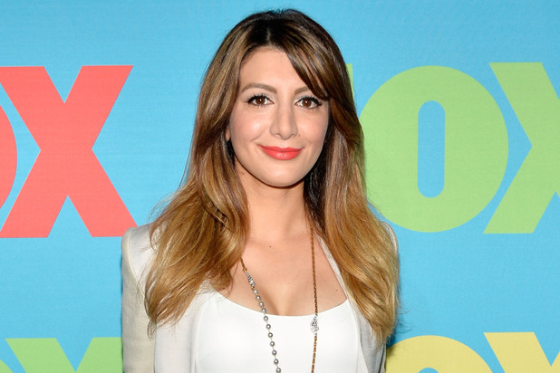 Nasim Pedrad attends the FOX 2014 Programming Presentation at the FOX Fanfront