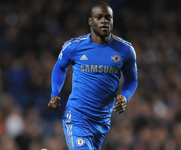 Soccer - Capital One Cup - Fourth Round - Chelsea v Manchester United - Stamford Bridge Victor Moses