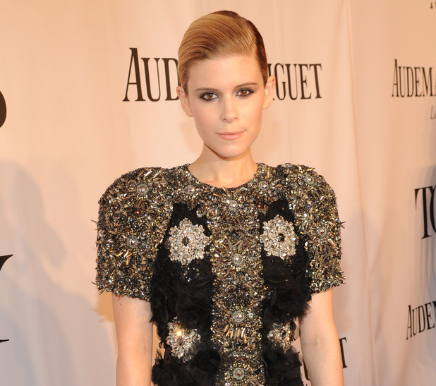 Kate Mara arriving at the 68th Annual Tony Awards 2014