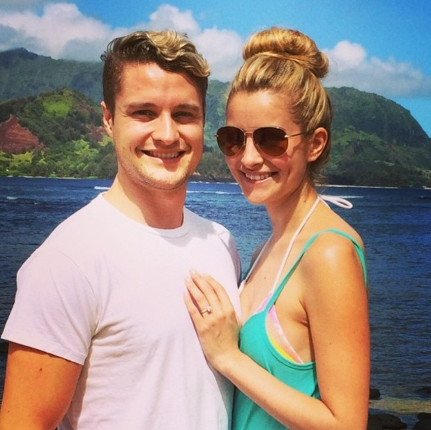 Charlie White gets engaged to girlfriend