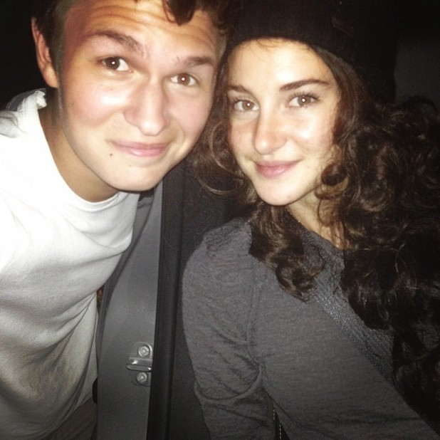 Shailene Woodley attends Fault in Our Stars screening in disguise
