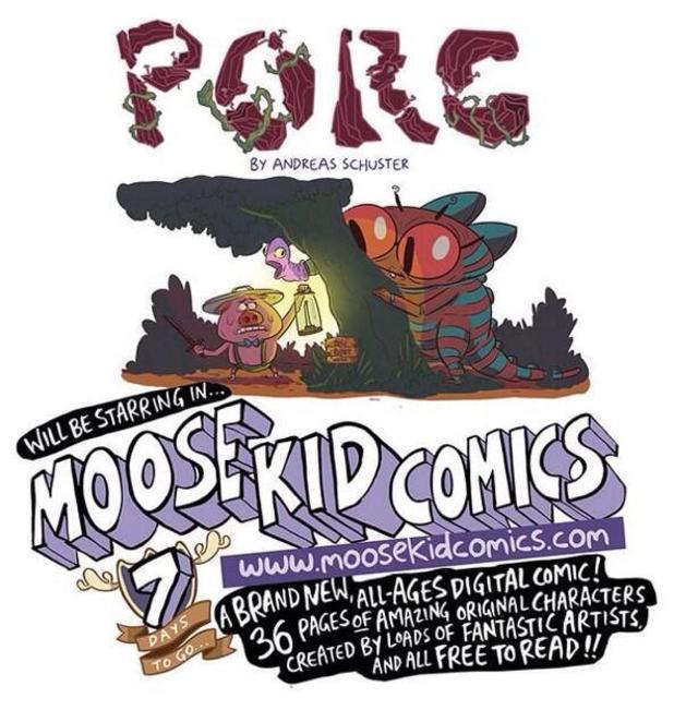 Moose Kid Comics previews: Porc / Flora and Fauna