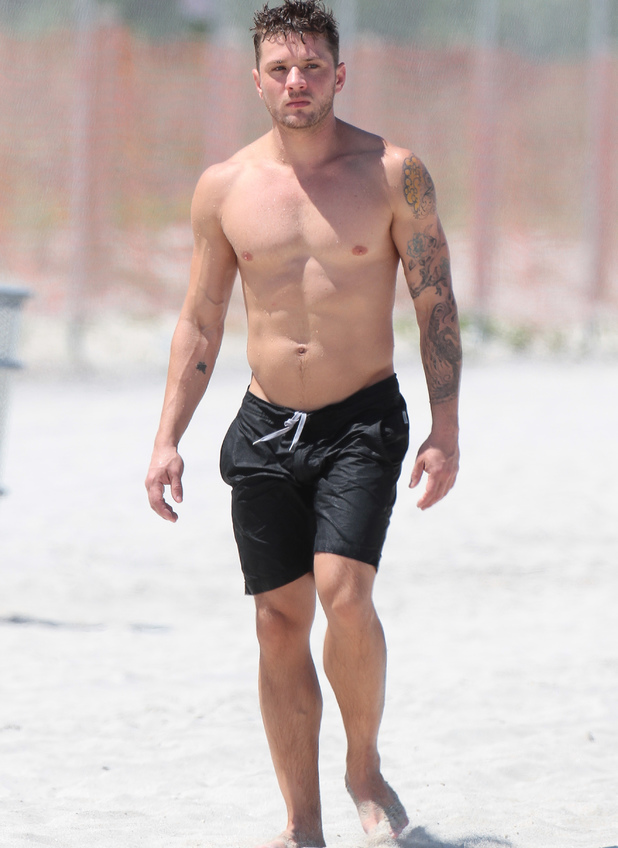 Ryan Phillippe on Miami Beach