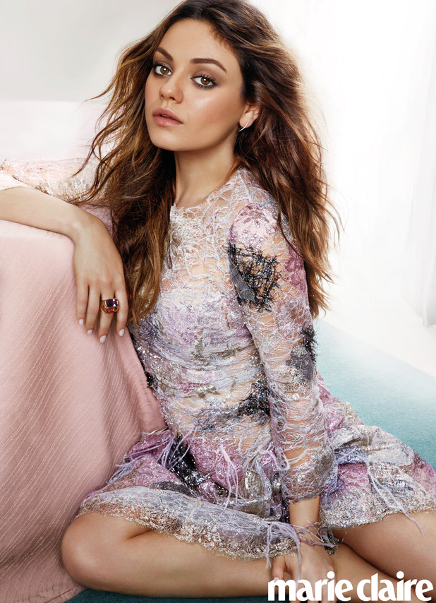 MIla Kunis in the July issue of Marie Claire