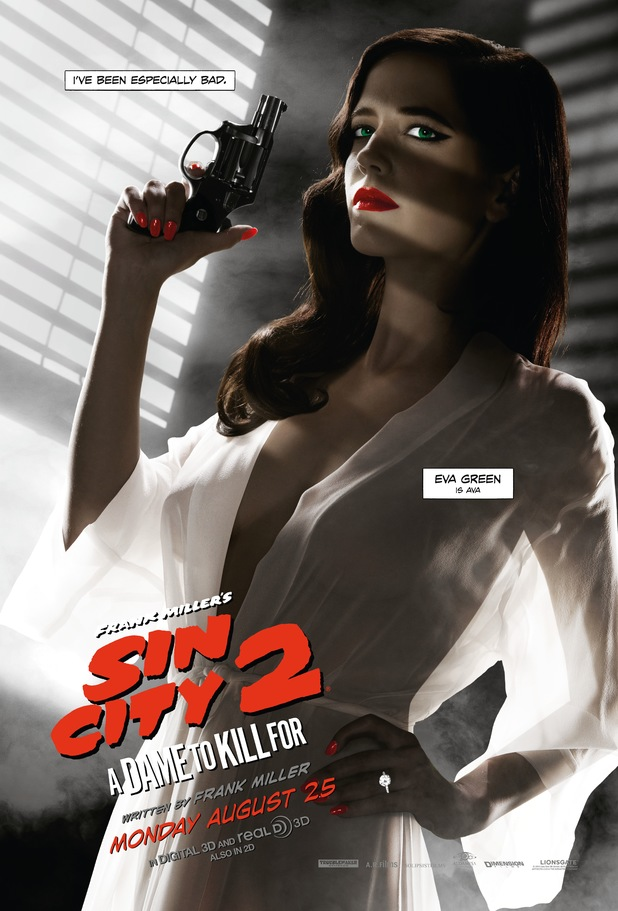 Eva Green's Sin City: A Dame to Kill For poster