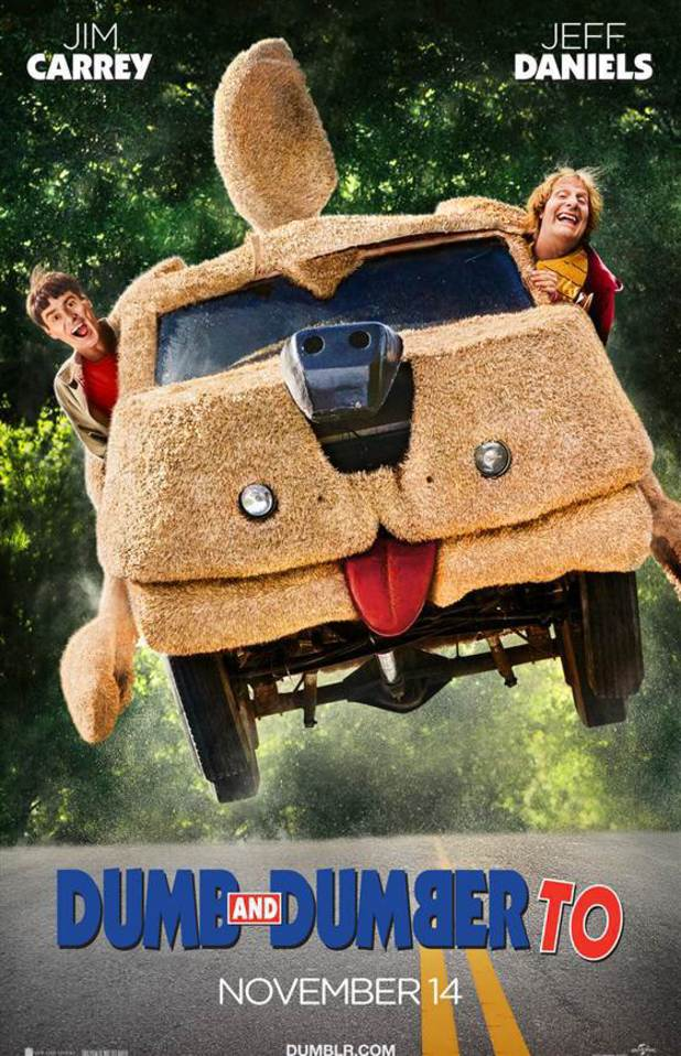 Dumb & Dumber To poster